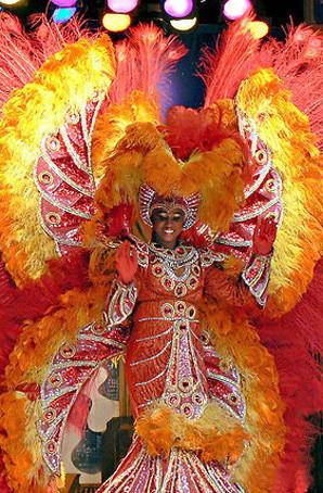 桑巴舞服装定制狂欢节羽毛背架桑巴舞演出服
