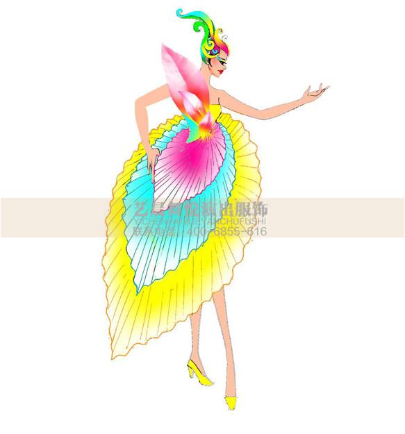 现代舞蹈服装设计现代舞蹈服装定制现代舞服装厂家