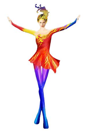 现代舞服定做连衣裙舞台演出服定制