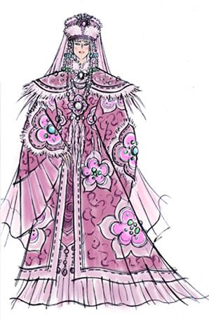 中国歌剧舞剧院大型原创民族歌剧《苏武》服装设计