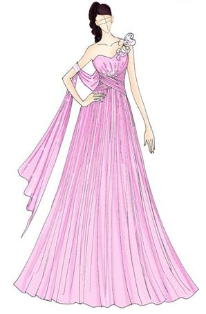 婚纱礼服设计舞台服装演出服礼服定制行家