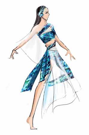 《一辈子的朋友》晚会舞蹈演出服装设计晚会舞蹈演出服饰定制晚会舞蹈演出服装厂家