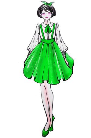 儿童合唱连衣裙女定制学生合唱服儿童合唱服