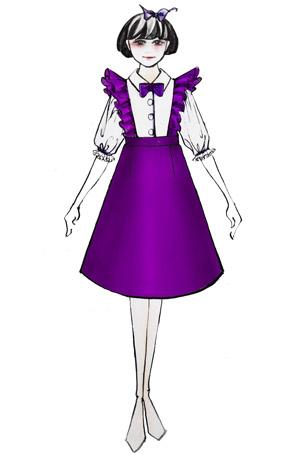 学生合唱服装设计演出连衣裙定做儿童合唱服