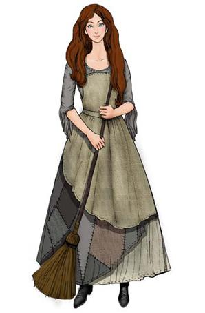 童话剧《灰姑娘》学生校园演出服装设计学生校园演出服装定制童话剧演出服装厂家